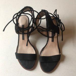 Jalene suede sandals